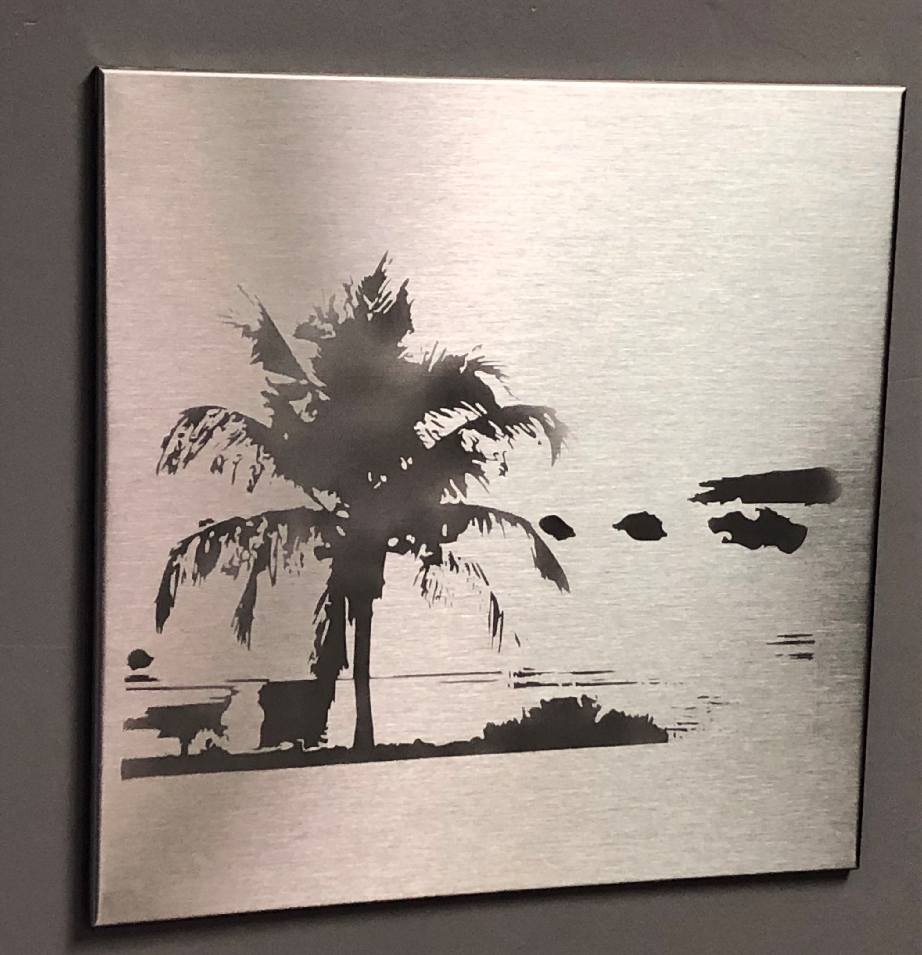 Stainless Steel Tile Art